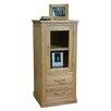 Baumhaus Mobel Oak Hi-Fi Cabinet