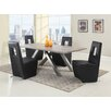 Chintaly Imports Chasity 5 Piece Dining Set