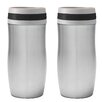 Chantal 10 oz. Travel Mug with Band (Set of 2)