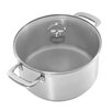 Chantal Induction 21 Steel™ 6-qt. Stainless Steel Round Casserole