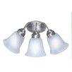 <strong>3 Light Vanity Light</strong> by TransGlobe Lighting