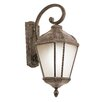 TransGlobe Lighting 1 Light Outdoor Medium Down-Light Wall Lantern