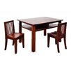 AFG Furniture Newton Kid's 3 Piece Table and Chair Set