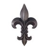 <strong>Legacy Home</strong> Fleur-De-Lis Sculpture Wall Decor