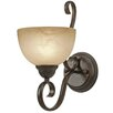<strong>Golden Lighting</strong> Riverton 1 Light Wall Sconce