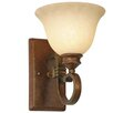 <strong>Golden Lighting</strong> Rockefeller 1 Light Wall Sconce