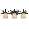 <strong>Golden Lighting</strong> Belle Meade 3 Light Bath Vanity Light