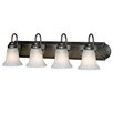 <strong>Golden Lighting</strong> Brookfield 4 Light Vanity Light