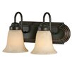 <strong>Brookfield 2 Light Bath Vanity Light</strong> by Golden Lighting