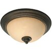 Heartwood 2 Lights Flush Mount