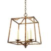 <strong>Golden Lighting</strong> Athena 3 Light Foyer Pendant