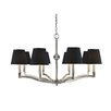 <strong>Golden Lighting</strong> Waverly 8 Light Chandelier