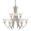 Golden Lighting Asteria 9 Light Chandelier