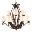 <strong>Pemberly Court 9 Light Chandelier</strong> by Golden Lighting