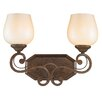 <strong>Pemberly Court 2 Light Vanity Light</strong> by Golden Lighting