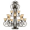 <strong>Golden Lighting</strong> Heartwood 15 Light Chandelier