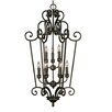 Golden Lighting Heartwood Caged Foyer Pendant