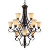 <strong>Torbellino 12 Light Chandelier</strong> by Golden Lighting