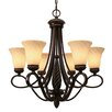<strong>Golden Lighting</strong> Torbellino 6 Light Chandelier