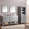 """Avanity Tribeca 61"""" Double Bathroom Vanity Set with Mirror"""