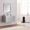 "Avanity Tribeca 37"" Single Wall Mounted Bathroom Vanity Set with Mirror"
