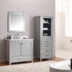 "Avanity Modero 37"" Single Bathroom Vanity Set with Mirror"