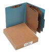 Acco Brands, Inc. Pressboard 25-Pt. Classification Folders, Letter, Six-Section, 10/Box