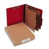 <strong>Acco Brands, Inc.</strong> Presstex Classification Folders, Letter, Six-Section, 10/Box