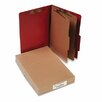 Acco Brands, Inc. Pressboard 25-Pt. Classification Folder, Legal, 6 Section, 10/Box