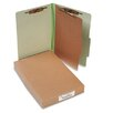 <strong>Pressboard 25-Pt. Classification Folders, Legal, 4-Section, 10/Box</strong> by Acco Brands, Inc.
