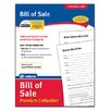 Adams Business Forms Bills of Sale Pack Forms and Instructions (Set of 6)