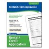 Adams Business Forms Rental/Credit Application Forms and Instruction (Set of 288)