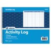 Adams Business Forms Spiral Bound Activity Log (Set of 10)