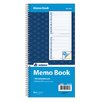 <strong>Adams Business Forms</strong> 2 Part Spiral Memo Book (Set of 25)