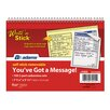 Adams Business Forms 2 Part Carbonless You've Got A Message Book Pad (Set of 12)