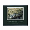 <strong>Advantus Corp.</strong> 'Communication' Framed Photographic Print