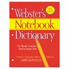 Advantus Corp. Merriam Webster Notebook Dictionary, Three Hole Punched, Paperback, 80 Pages