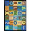 Joy Carpets Oversize Alphabet© Kids Rug