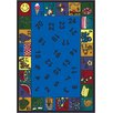 Joy Carpets Educational Count on Me Area Rug