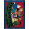 Joy Carpets Educational Welcome to Our Classroom Area Rug