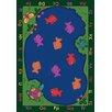 Joy Carpets Educational Essentials Fishin' Fun Area Rug