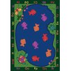 <strong>Educational Essentials Fishin' Fun Kids Rug</strong> by Joy Carpets