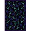 <strong>Sports Retro Bowl Cool Blue Novelty Rug</strong> by Joy Carpets