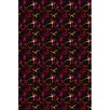 Joy Carpets Fluorescent Silly String Area Rug