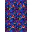 Joy Carpets Fluorescent Under the Sea Kids Rug