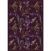 Joy Carpets Whimsy Virtuouso Purple/Green Area Rug