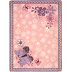 Joy Carpets Just For Kids Flower Fields Area Rug