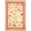 <strong>Joy Carpets</strong> Just For Kids Hearts and Flowers Kids Rug