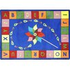 <strong>Educational Alphabet Pinwheel Kids Rug</strong> by Joy Carpets