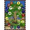Joy Carpets Educational Tree of Life Area Rug